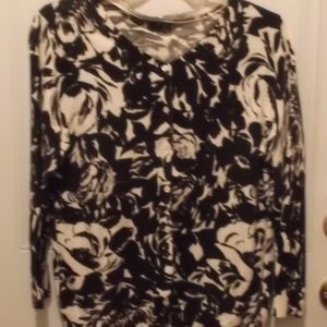 """George"" long-length cardi * Size 2XL - new"